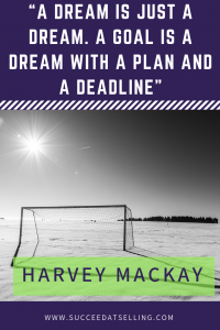 Pin this motivational quote about goals