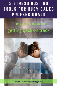 Reduce sales stress with these quick tips